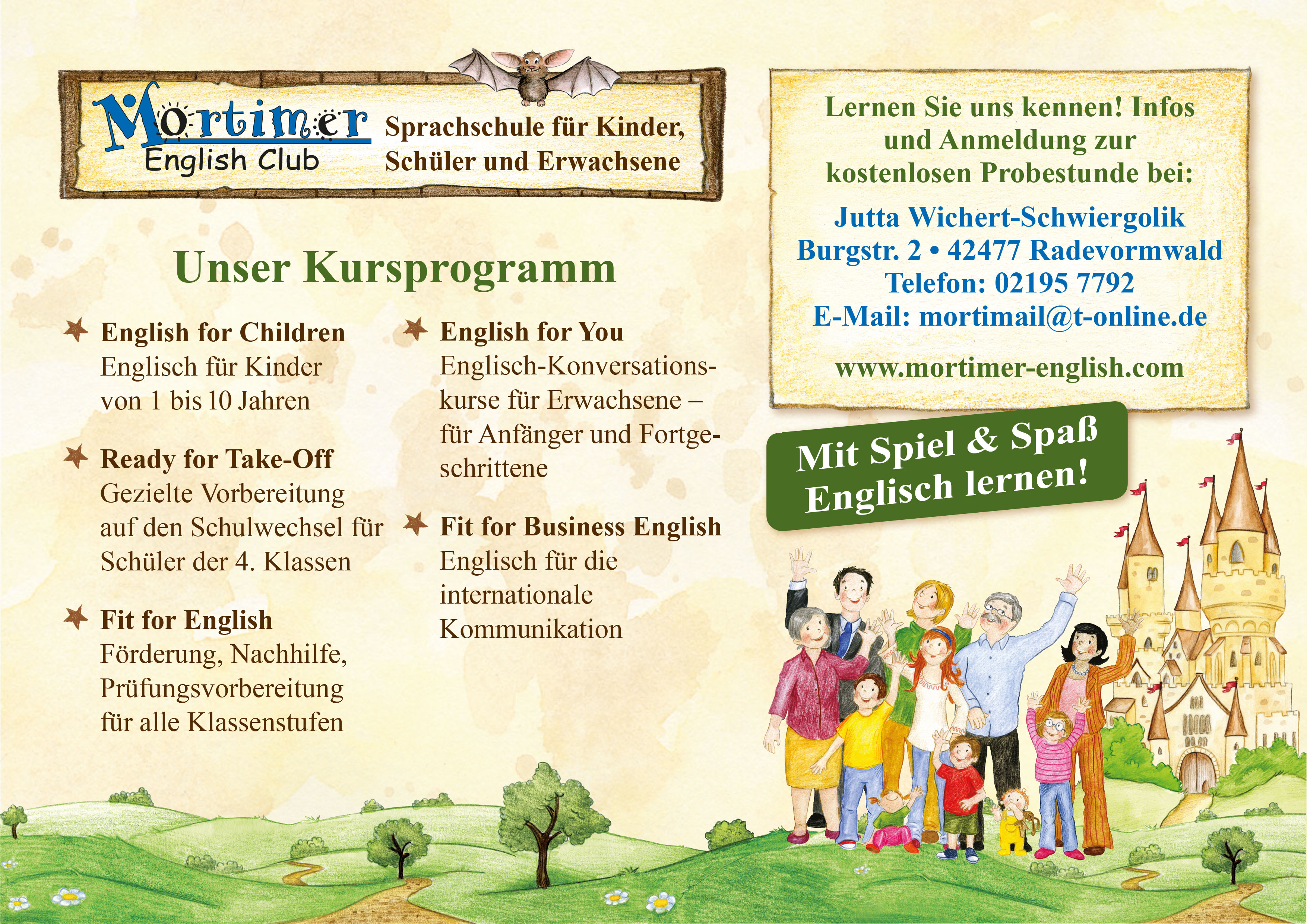 Sprachschule Mortimer English Club
